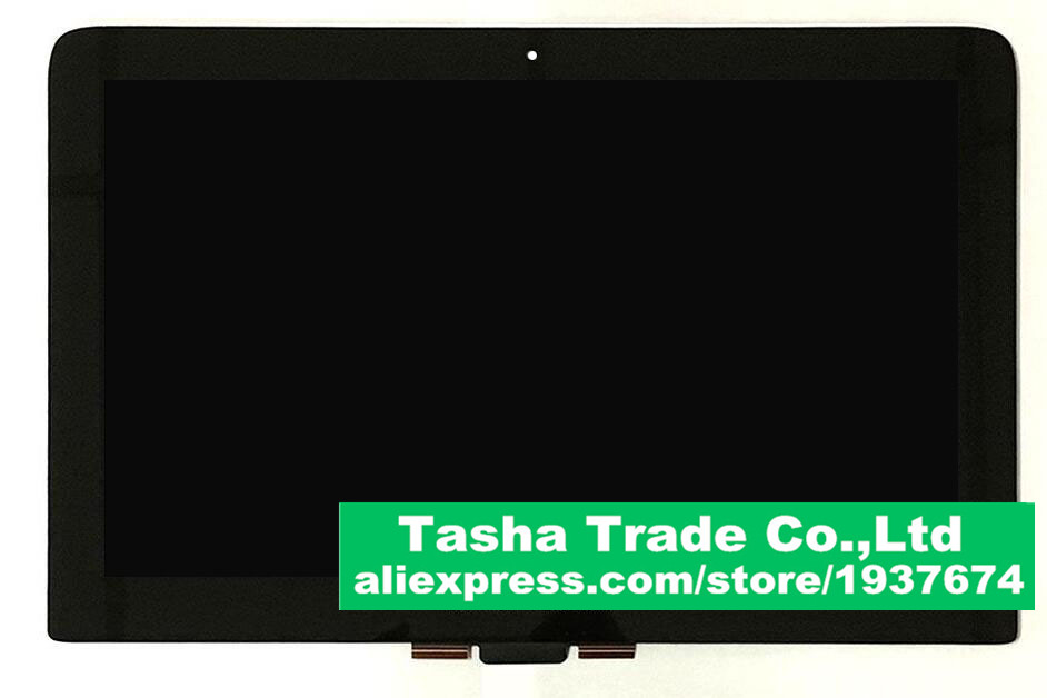 For HP Spectre Pro X360 G1 LCD Touch Digitizer Assembly Laptop Screnn LP133QH1-SPA1