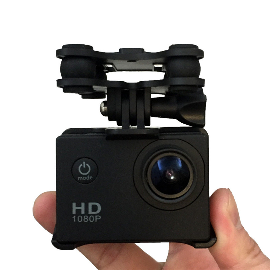High Quality SJ/GoPro/Xiaoyi Camera Holder with Gimble/Gimbal For SYMA X8C/X8G/X8W rc Quadcopter Drone rc Helicopter