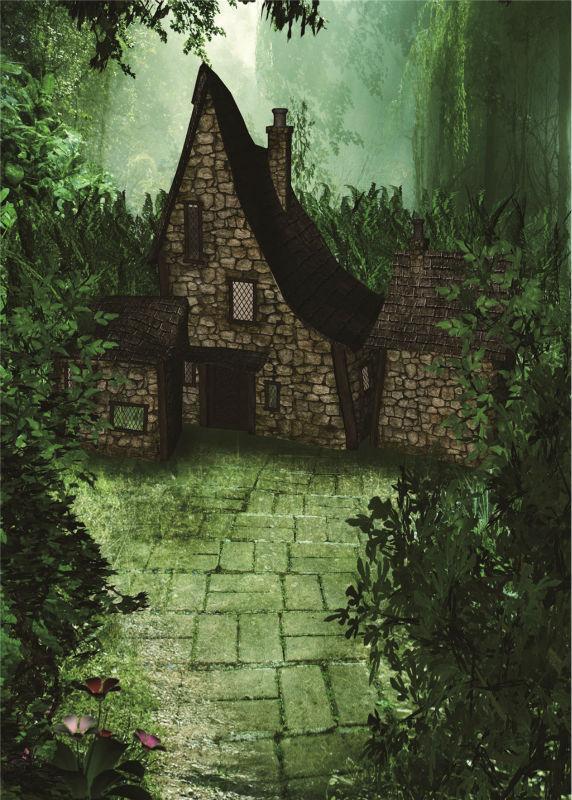 KIDNIU old castle retro background vinyl 5x7ft or 3x5ft children backdrops stor photo props Harry Porter Hogwarts