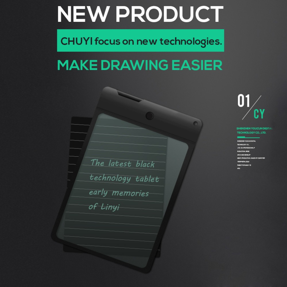8.8 inch Transparent LCD Writing Tablet Electronic