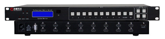 FleißIg 16 In 1 Out Hdmi 1,4 Schalter 16x1 Switcher Hd 1080 P Video Display Auto Loop Rs232 Ir Fernbedienung Kvm-switches