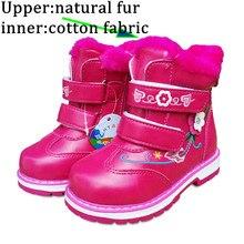 Горячая Распродажа 1 пара брендовые Детские холодные зимние теплые зимние, детские модные ботинки экспортированные Европа Россия бренд для девочек с хлопковой подкладкой сапоги