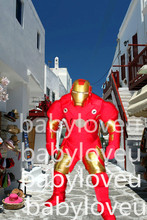red robot Man mascot costume custum  color halloween costumes party dinosaurs fancy dress christmas gift