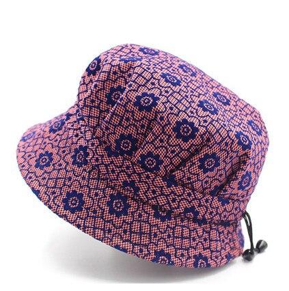 Mujeres Madre abuela Sombrero de sol de moda Floral Pescador Panamá - Accesorios para la ropa - foto 5