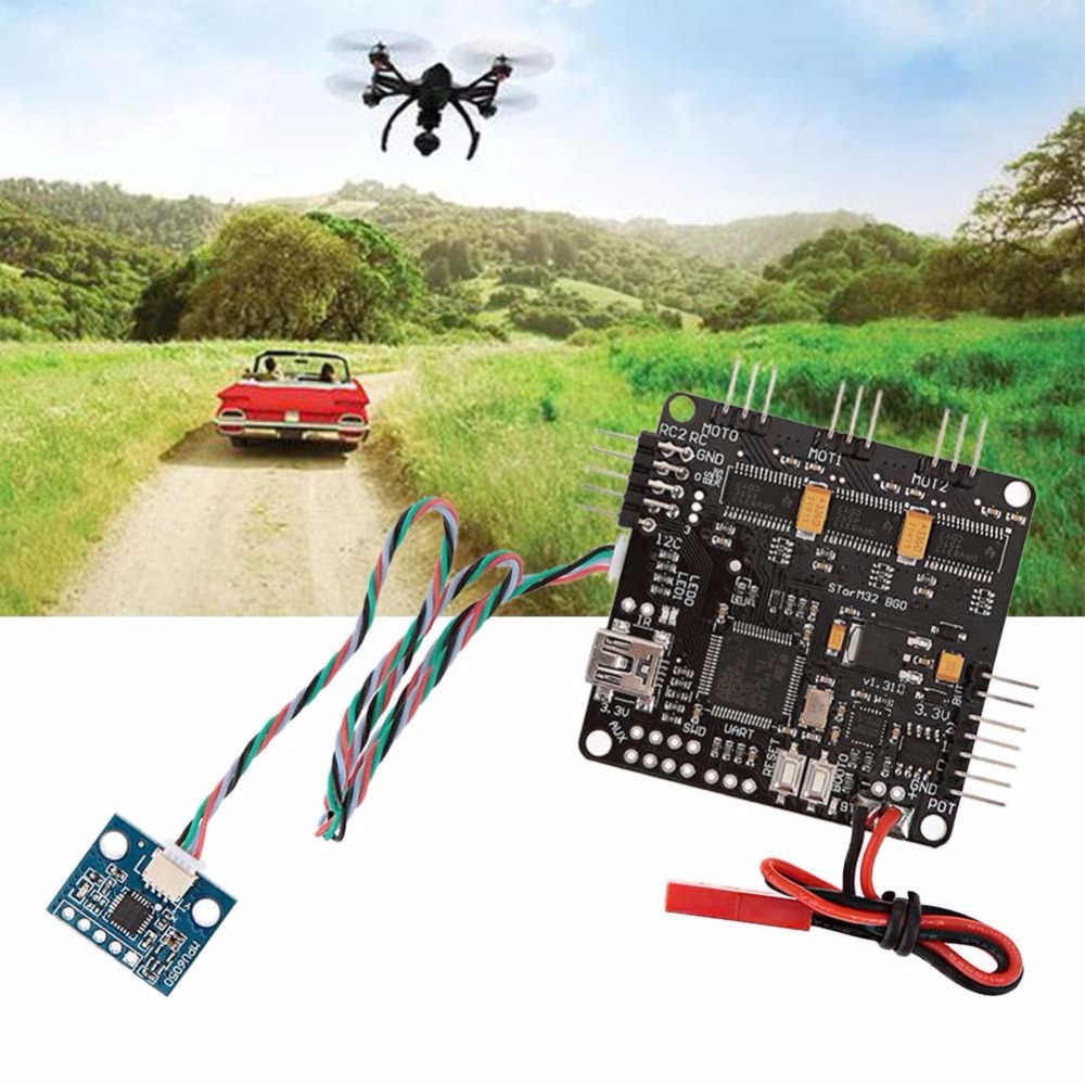 Storm 32 BGC 32 Bits 3-Axis Brushless Gimbal Controller DRV8313 Motor Driver 2015 hot sale quadcopter 3 axis gimbal brushless ptz dys w 4108 motor evvgc controller for nex ildc camera