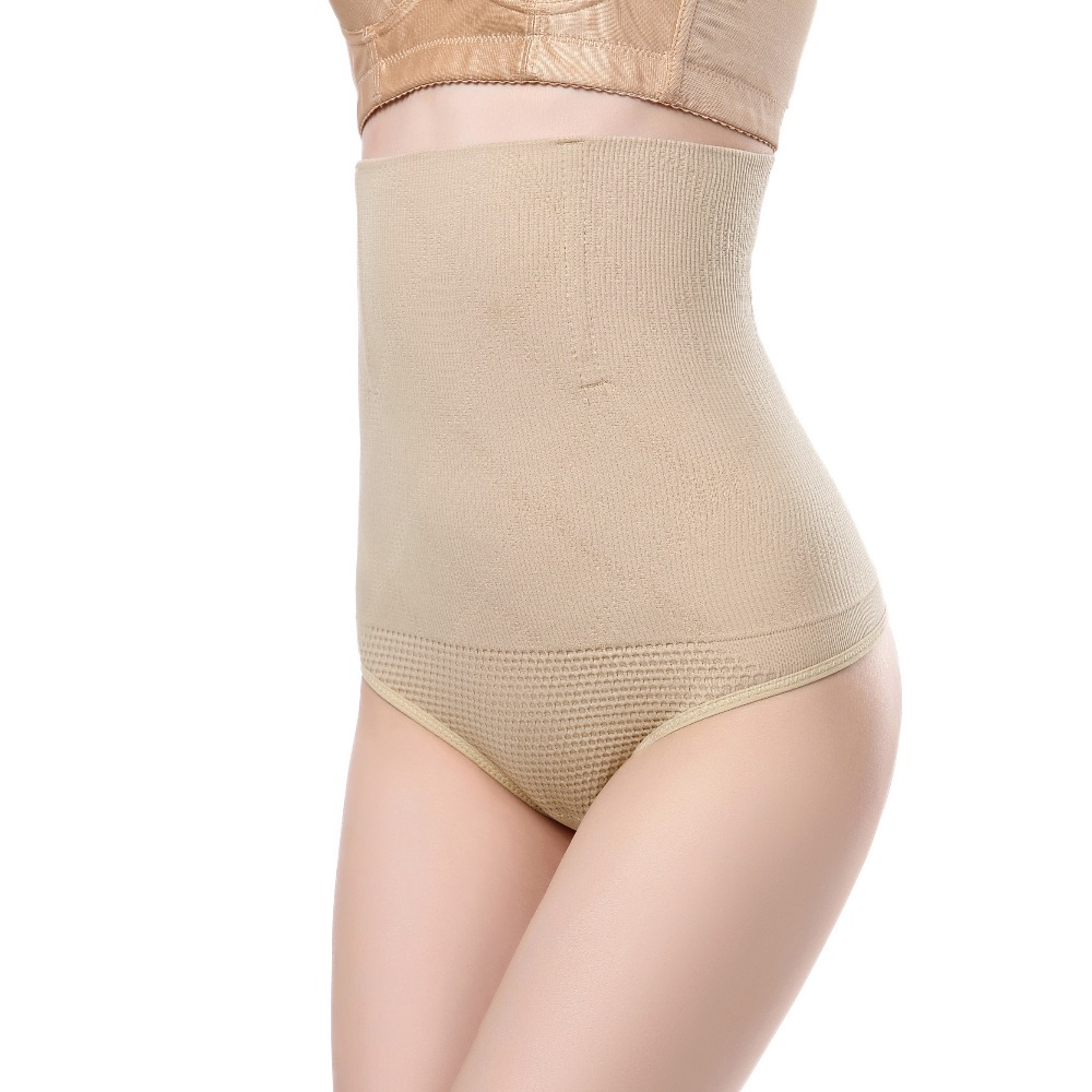 Butt lifter 2 pieces Slimming girdle Briefs high waist waist trainer Corrective Underwear tummy Womens Panties Modeling Strap