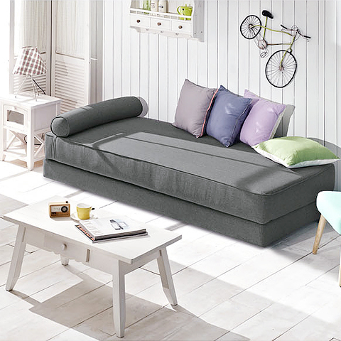 Aidai Small Family Home Minimalist Modern Ikea Sofa Bed 1 8 Multifunctional Single Or Double Fabric