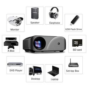 Image 3 - Vivibright F10 1280*720 LED Projektor Auflösung Unterstützung Full HD Home Cinema MINI Tragbare Proyector für 3D beamer HD proyector