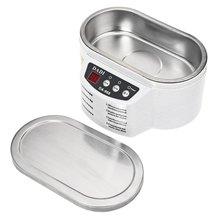 600 ml Ultraschall-reiniger Schmuck Gläser Platine Reinigungsmaschine Intelligente Steuerung ultraschallreinigung ultraschall-bad