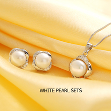 Sterling Silver Pearl Jewellery Set
