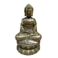 Southeast Asia Copper Buddha Statue ShakyaMuni Small Buddha Statue Figurines Crafts Vintage Buddha Home Decor Gifts R38