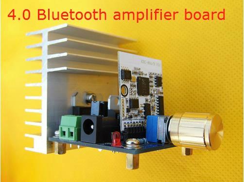 Bluetooth 4.0 Estéreo de Audio Tda7377 Tablero Del Amplificador 40 w + 40 w ampl
