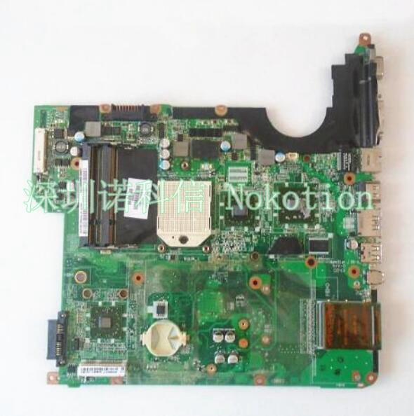 NOKOTION 502638-001 DA0QT8MB6G0 for HP Pavilion DV5-1100 DV5-1105 Laptop Motherboard s1 DDR2 video video card & free cpu works nokotion for acer aspire 5750 laptop motherboard p5we0 la 6901p mainboard mbrcg02005 mb rcg02 005 mother board