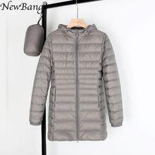 Matt Fabric 5XL 6XL Plus Long Down Jacket Women Winter Ultra