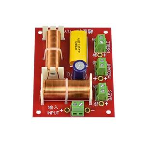 Image 5 - AIYIMA 2 stücke 200W 3 Weg Audio Lautsprecher Crossover Höhen + Mitten + Bass Unabhängige Crossover Lautsprecher Filter Frequenz teiler