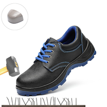 Men's Steel Nose Safety Work Shoes Casual Sports Shoes Electrician Lnsulated Shoes 6KV Anti-puncture Protective Boots Size 36-45