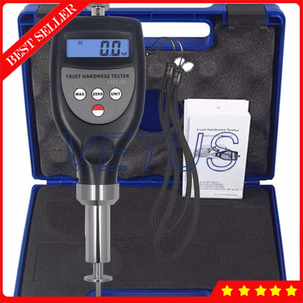 Digital Fruit Penetrometer Hardness Tester For Soft Fruit Plum Banana FHT-05