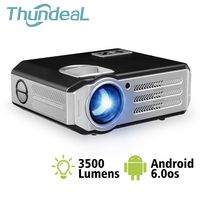 ThundeaL RD 817 LED Android WiFi Projector 3500 Lumens Projector Video HDMI USB Full HD 1080P Projetor TV Home Theater Beamer