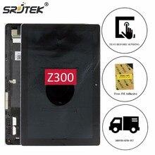 Srjtek 10,1 für asus zenpad 10 z300 z300c z300cl z300cg P023 LCD Display Touchscreen Digitizer Glass Sensor Assembly + rahmen