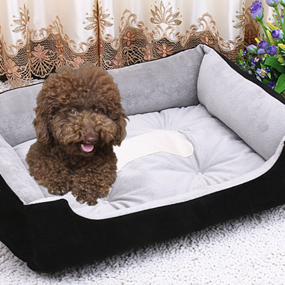 Pet Dog Bed Soft Material Fall and Winter Warm Nest Kennel For Cat Warming House Puppy Plus size shop Products