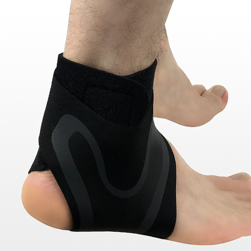 1 PCS Ankle Support Brace,Elasticity Free Adjustment Protection Foot Bandage,Sprain Prevention Sport Fitness Guard Band 4