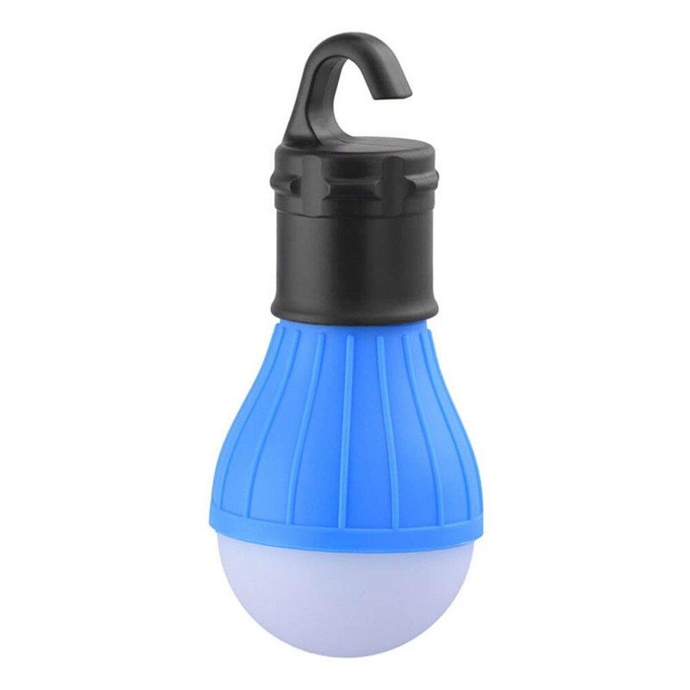 1 Pc Portatile Di Campeggio Di Emergenza Tenda Luce Morbida Appeso All'aperto Sos 3 Led Lanters Lampadina Lanterna Pesca Trekking A Risparmio Energetico Lampada Tempi Puntuali