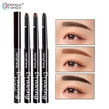 Waterproof Automatic Eyebrow Pencils 24 Hours Long-Lasting 3 Color Drawing Eye Enhancer 0.5g Makeup Brand HengFang  #H6502