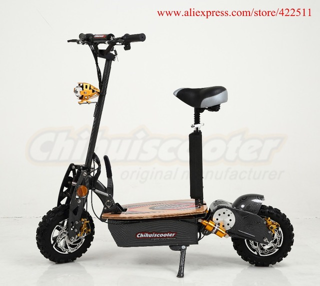 2016 New 2000w 60v Foldable Electric Scooter Two Wheel Captain By Chihui