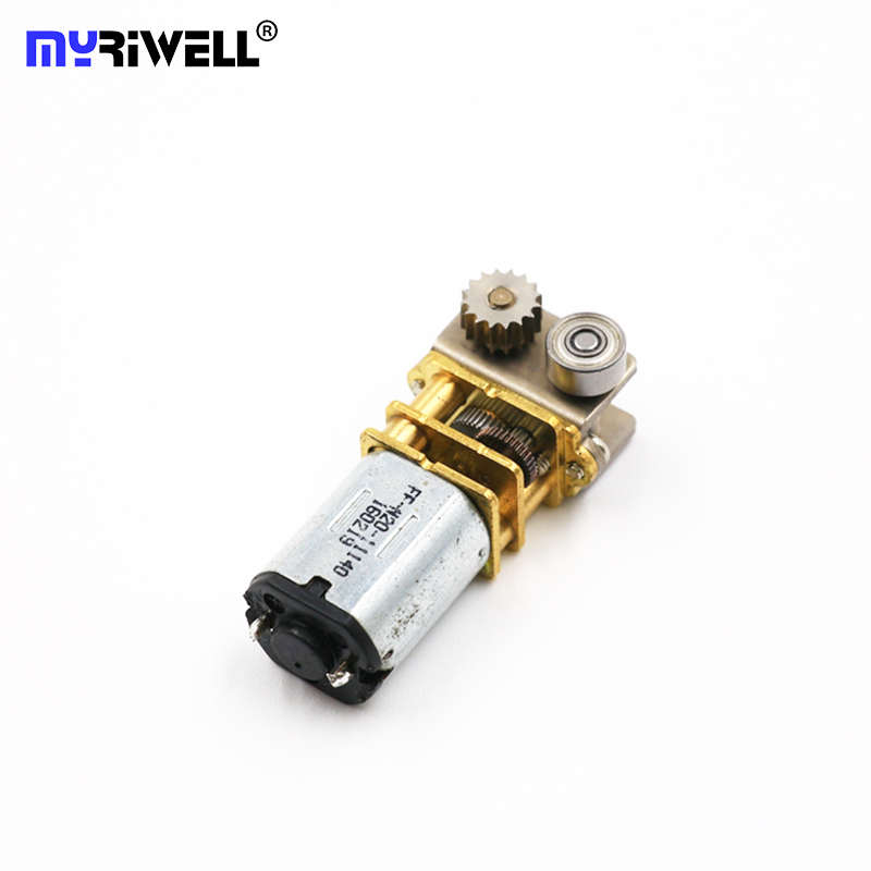 RP-100C 3D Printing Pen Extruder 12V 100RPM Mini DC Metal Gear Motor With Gearwheel For Free Shipping