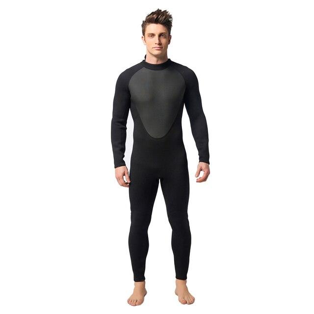 4178d79ed7 Warm Professional Diving suit Men's 3mm Neoprene Full Body Diving Swimming  Clothes swimsuit surf Scuba Dive