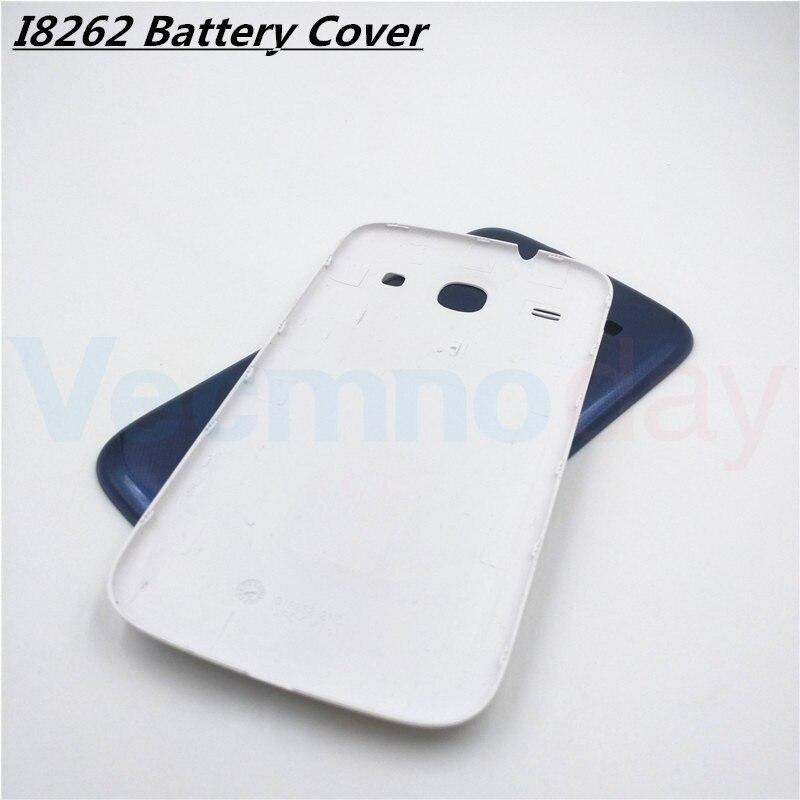 Vecmnoday 4.3 ''Nouveau Boîtier de La Batterie Couverture Arrière Porte Pour Samsung Galaxy Core I8260 I8262 GT-I8262 8260 Cas Pièces De Rechange
