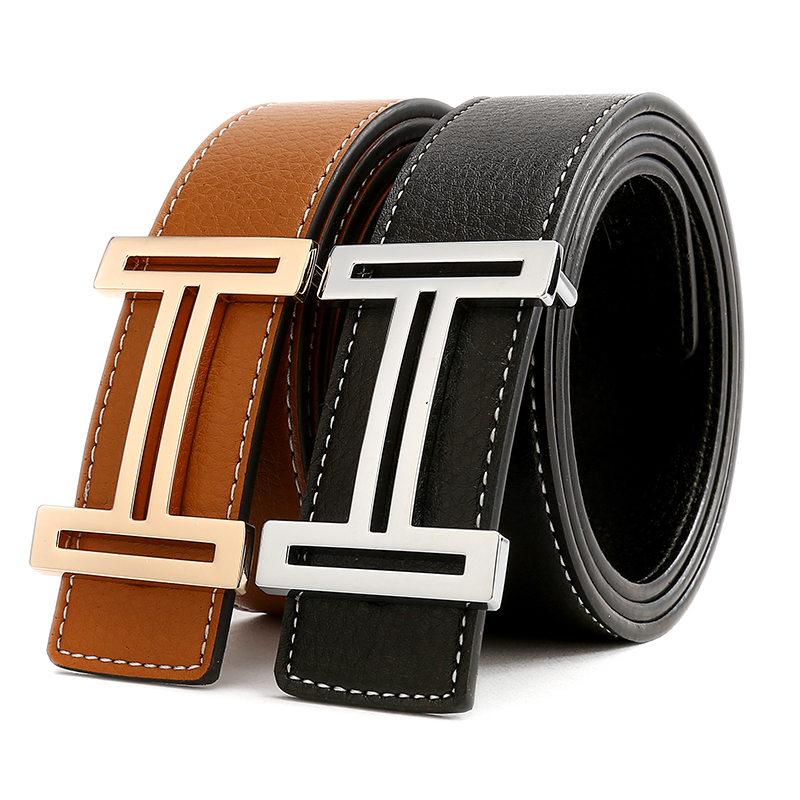 Casual H Designer Luxury Brand   Belts   for Mens Genuine Leather Male Women Vintage Fashion High Quality Strap Waistband for Jeans