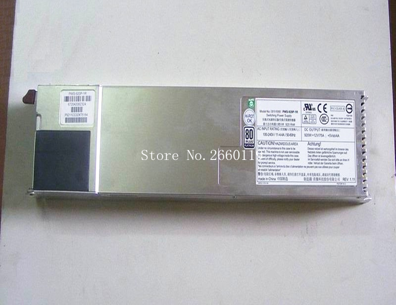 Server power supply for PWS-920P-1R 920W fully testedServer power supply for PWS-920P-1R 920W fully tested