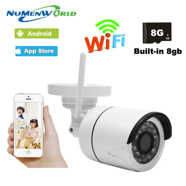 Wps home numenworld abs plastic material wireless ip camera 720p 8g one key wps wifi camera ip fandeluxe Gallery