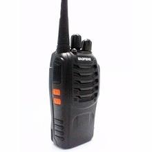 BaoFeng Walkie Talkie BF- 888S Black UHF 400-470MHz Ham Portable Two Way Radio 5w 16CH Portable CB Radio Baofeng BF 888s