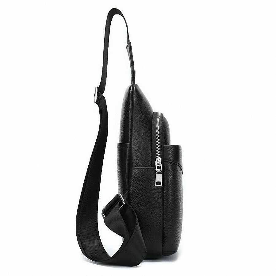 Рюкзак на лямках из натуральной кожи, Мужская винтажная сумка-мессенджер из воловьей кожи 100%, Повседневная сумка через плечо, LI-2478