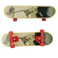 Сплав Мини палец игрушка для скейтборда профессиональные стенты клен деревянный гриф палец скейтборд модель BMX Новинка Детский подарок