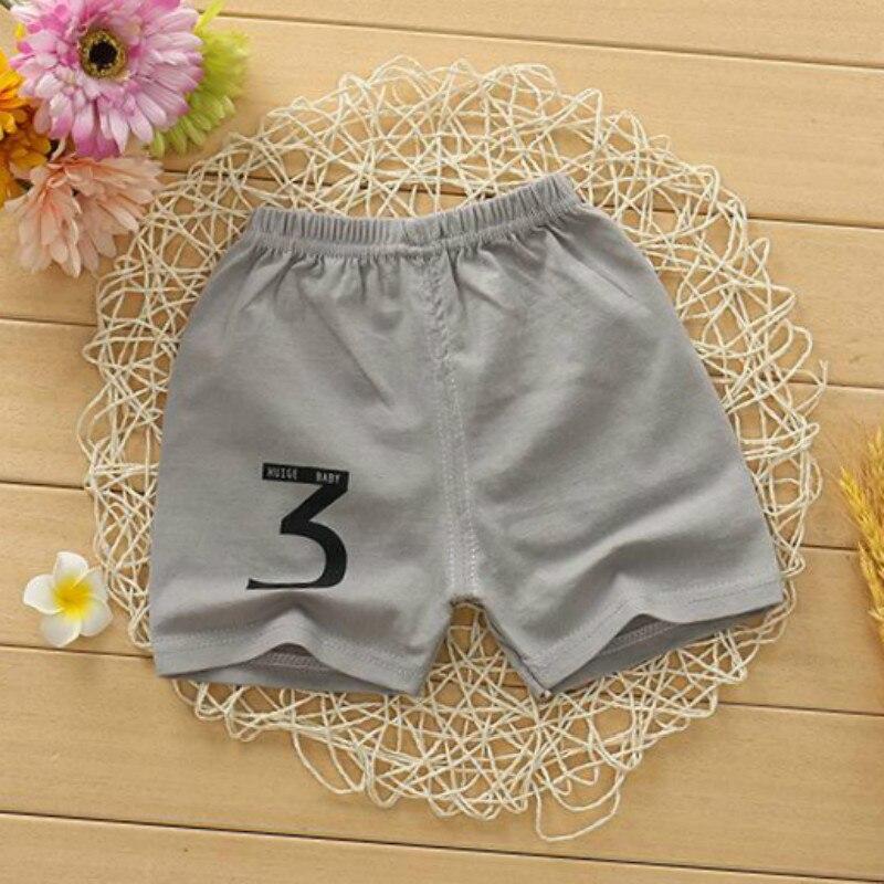 Okoufen marca de qualidade calças do bebê verão 100% algodão crianças menino e menina roupas de moda bebê criança elástico shorts varejo