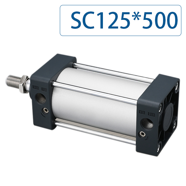 Optional magnet SC125*500 Free shipping Standard air cylinders 125mm bore 500mm stroke single rod double acting pneumaticOptional magnet SC125*500 Free shipping Standard air cylinders 125mm bore 500mm stroke single rod double acting pneumatic