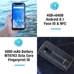 "Image 5 - Ulefone Armor 5 مقاوم للماء IP68 NFC 5.85 ""HD + الهاتف المحمول MT6763 Otca Core أندرويد 8.1 4GB + 64GB اللاسلكية تهمة الوجه معرف 5000mAh"