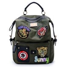 Bagpack Green Daypacks Mochila Feminina