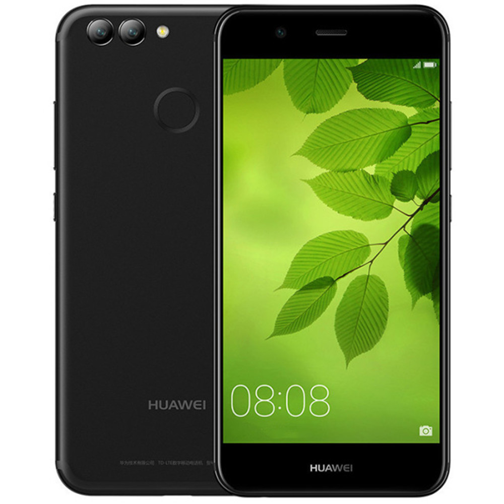 HUAWEI NOVA 2 4 gb RAM 64 gb ROM Hisilicon Kirin 659 2.36 ghz Octa Core 5.0 pouce 2.5D Incell écran FHD Android 7.0 LTE Smartphone
