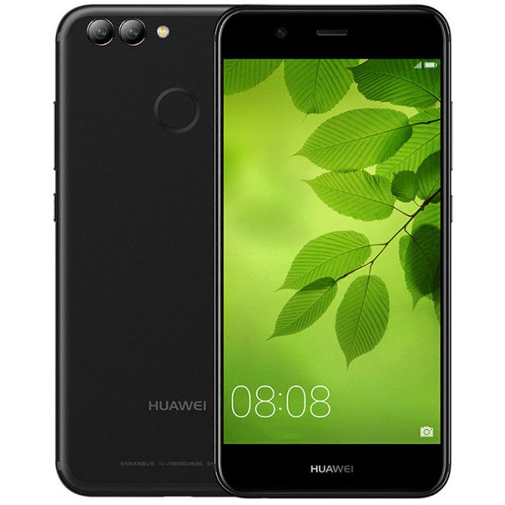 HUAWEI NOVA 2 4 gb di RAM 64 gb ROM Hisilicon Kirin 659 2.36 ghz Octa Core 5.0 pollice 2.5D Incell schermo FHD Android 7.0 Smartphone LTE