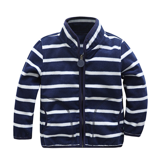 Sweatshirt for Boys with Striped Design