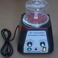 KT 100 Mini Magnetic Tumbler Rotary polishing tumbler for Jewelry Tools