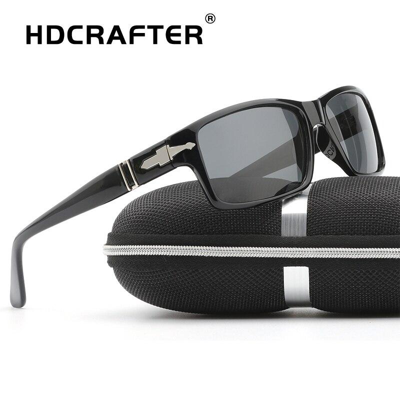 Hdcrafter Мода Мужчины Поляризованные Вождения Солнцезащитные очки Миссия Impossible4 Том Круз Джеймс Бонд солнцезащитные очки