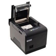 High quality original Auto-cutter 80mm Thermal Receipt Printer USB/Lan  Pos Printer for Hotel/Kitchen/Restaurant