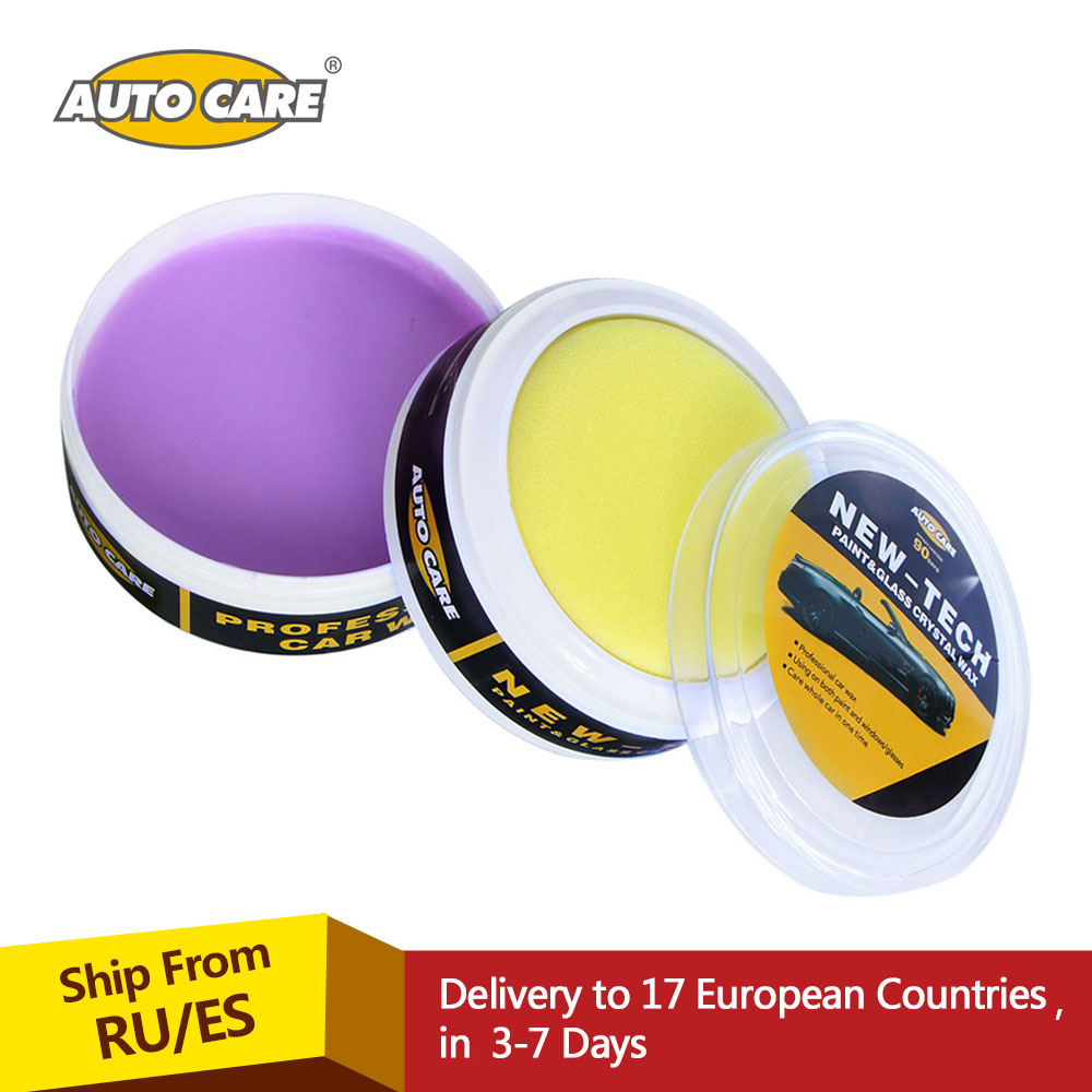 AutoCare Magic Car Crystal Wax Paint Care Carnauba Wax Glass Coating Car Wax For Car Paint & Plastic Part Automotive Maintenance car coating wax for light colored vehicles 300 g