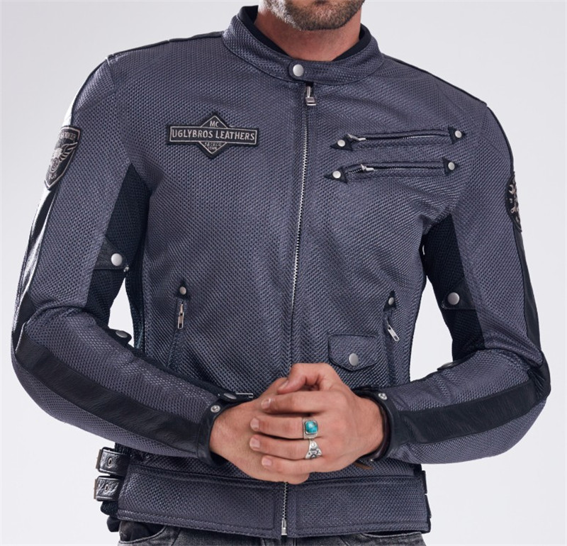 2018 New Arrival! Uglybros summer mesh breathable motorcycle jacket protective g