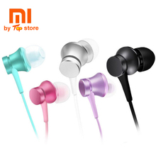 Cheapest Original Xiaomi New In-ear piston 3 Earphone with Mic Wire Control headset for mobilephone Andoid and iphone